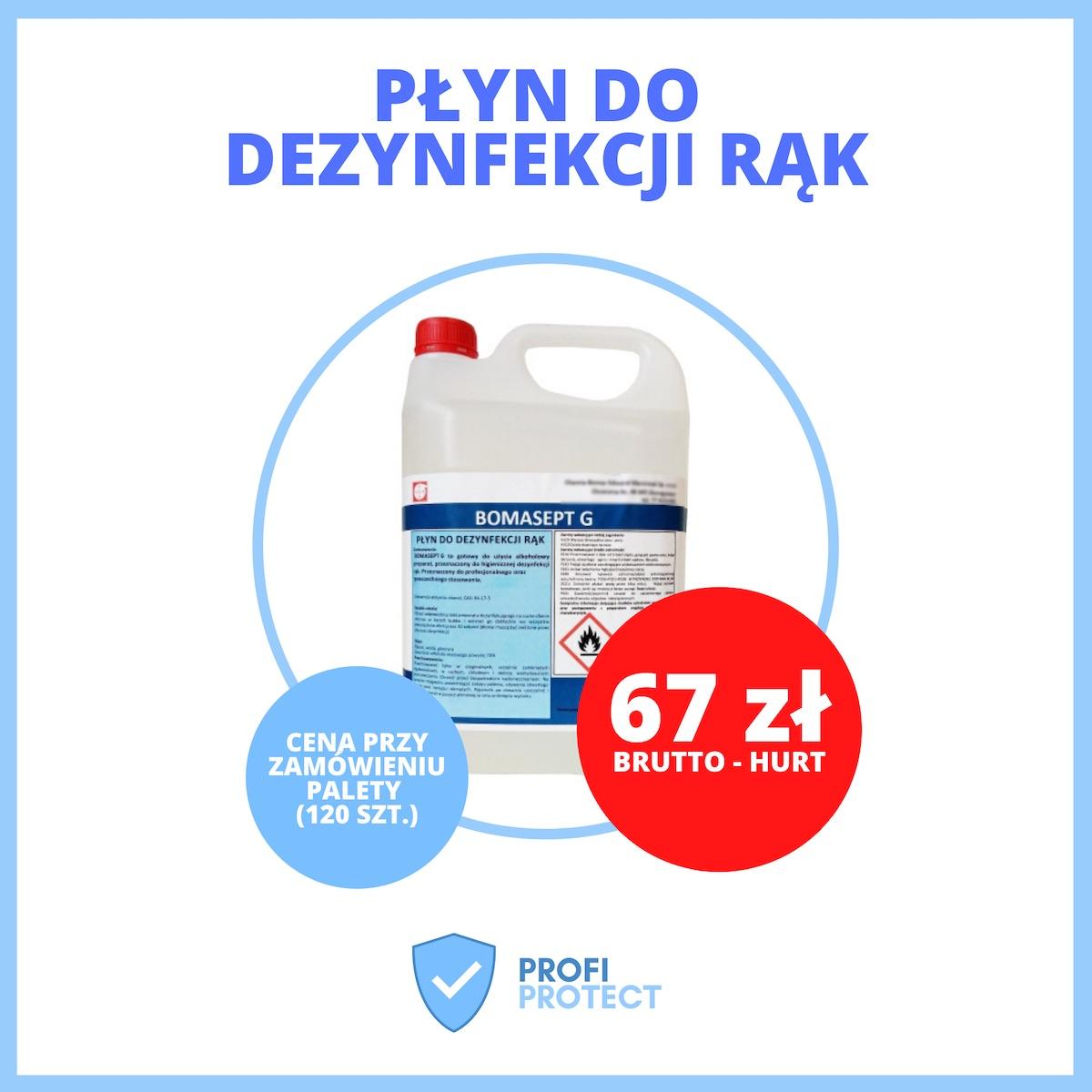 plyn dezynfekcja rak opole