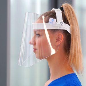 Ochrona twarzy - maski i przyłbice